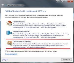 öffentliches Netzwerk