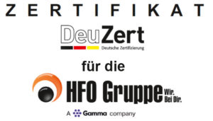 HFO ISO 27001-Zertifizierung
