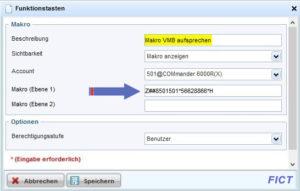 Voicemailbox mit Funktionstaste VoIP aufsprechen