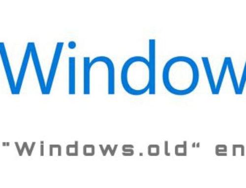 Windows.old Ordner entfernen