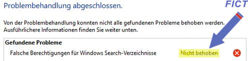 Suchfunktion Outlook