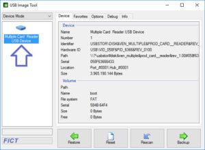 USB Image Tool - USB Device