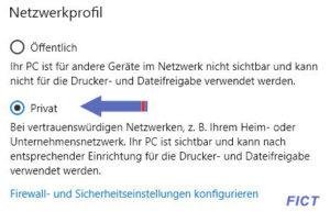 Netzwerkprofil